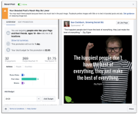 Facebook Boosted Posts Can Now Include More Text