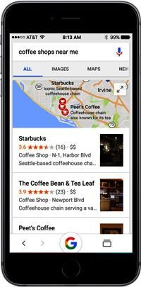 'Near-Me' Searches Become Dominant On Mobile