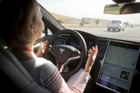 Tesla blames crash on braking system, not AutoPilot