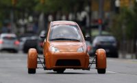 The Elio three-wheeler is now available for $7,000 pre-order