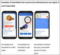 Google Sets Deadline To Remove 'Intrusive' Interstitials