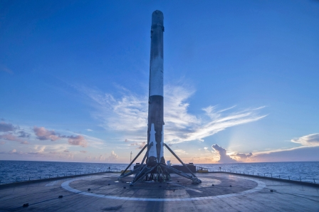 SpaceX to launch SES satellite on a reused Falcon 9 rocket