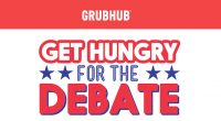 Clinton wins Grubhub presidential 'debate' as diners cast votes with special discount codes