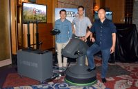 Futuretown's modular platform turns VR into simulator rides