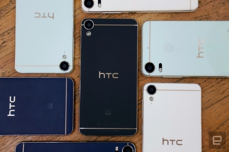 HTC's Desire 10 phones make mid-range power feel more premium