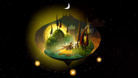 'Luna' is a whimsical puzzle game that takes place in the stars