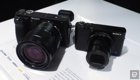 Sony's new A6500 and RX100 V cameras are all about speed