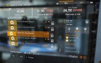 Tom Clancy's The Division Vendor Reset September 24th – Performance Gear Mods, Blueprints & More