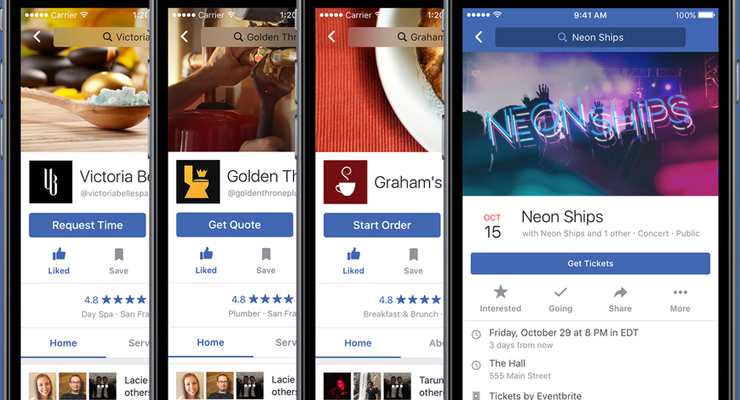 Facebook Page Call-to-Action Buttons Get Big Update
