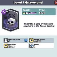 Clash Royale Graveyard Spell Card Confirmed – A Great Counter to Many Popular Deck And Card Strategies