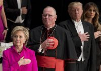 Donald Trump and Hillary Clinton Are Sitting One Seat Apart at the Alfred E. Smith Dinner