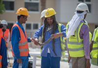 Emerson provides UAE workers with neck-cooling wearables