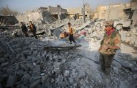 Iraqi Experts Probe Mass Grave Site Found Near ISIS-Held Mosul