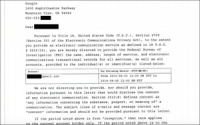 Google Discloses Receiving NSA Letters