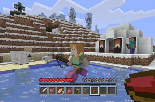 Minecraft Exploration Update – Llama, Shulker Box & New Mobs