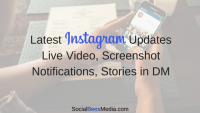 Instagram Screenshot Notification & Live Video On Instagram Stories