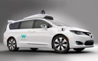Alphabet Unveils Waymo's Modified Chrysler Pacifica