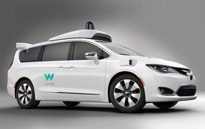 Alphabet Unveils Waymo's Modified Chrysler Pacifica