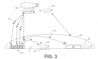 Amazon patents a floating delivery-drone mother zeppelin