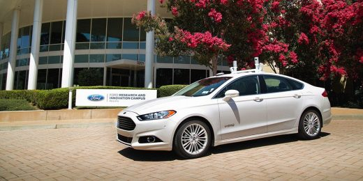 How can advertisers target the emerging autonomous car industry?