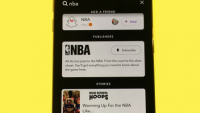 Snapchat's updated search bar makes it easier to find Discover channels, Live Stories