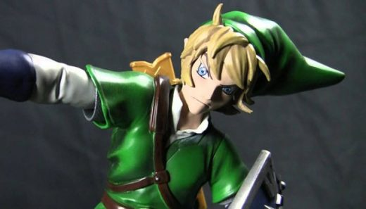 [Video] Watch Legend of Zelda: Breath of the Wild 'Link Statue' Creation Process By First 4 Figures