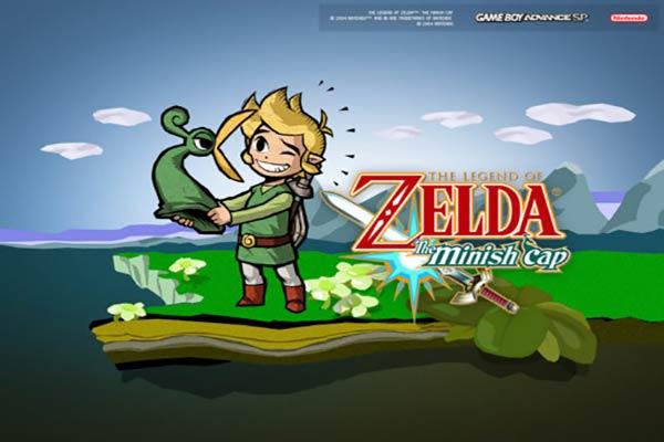 best gba games the-legend-of-zelda-the-minish-cap