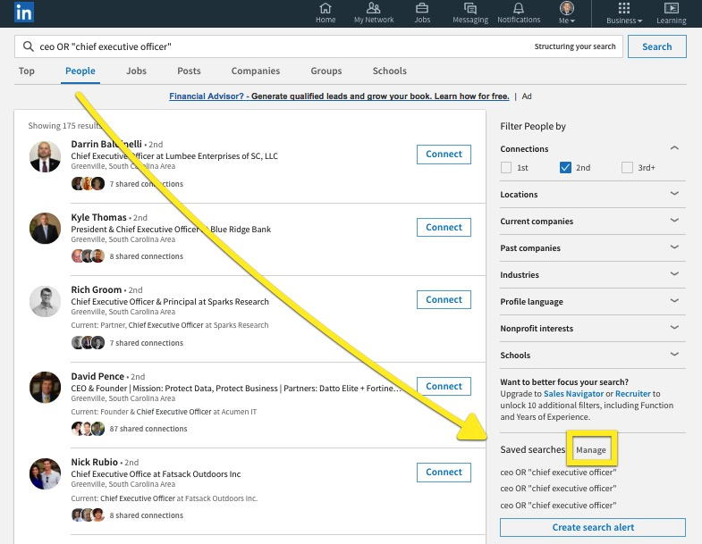 Big News! LinkedIn Saved Searches Are Back!