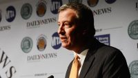 "NYC Mayor Defends Police Body Camera Buy, Decrying A Competitor's ""Smear"" Campaign"