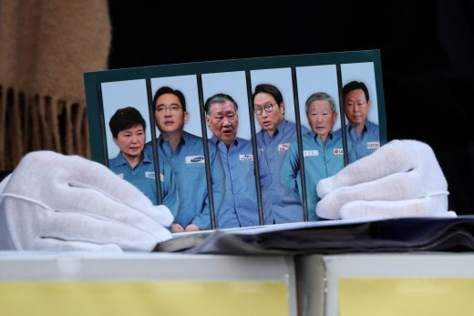 Samsung-linked scandal takes down South Korea's president
