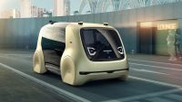 "Volkswagen unveils your new self-driving ""bar car"" lounge concept"