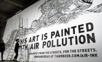 Air pollution makes surprisingly good art supplies