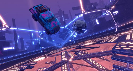 Destroy your opponents in 'Rocket League' Dropshot mode