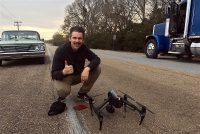 Ethan Hawke shot most of his forthcoming biopic with DJI gear