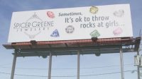 "Least Creative Thing Of The Day: This Billboard Urges You To ""Throw Rocks At Girls"""
