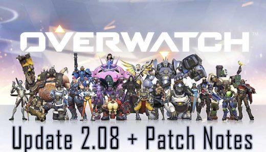 Overwatch Update 2.08