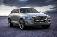 Prototype Genesis SUV melds hydrogen and plug-in power