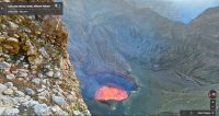 Stare into an active volcano with Google Street View