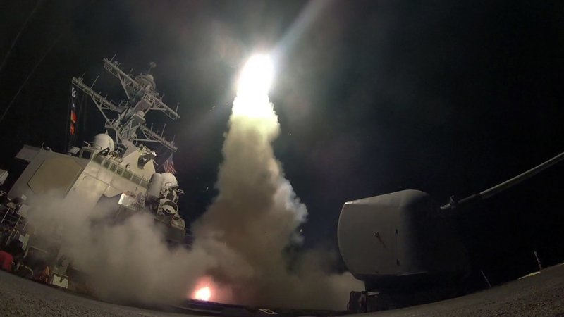 The Evolving Constitutional Power Behind President Trump's Syria Airstrikes