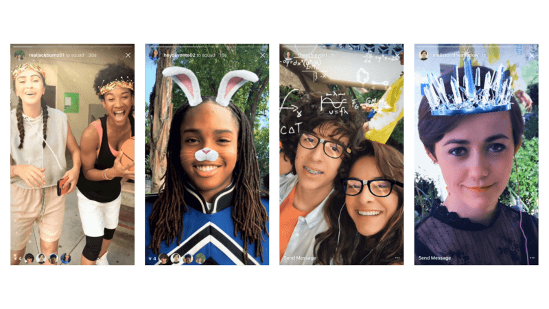 Instagram copies Snapchat's selfie masks, as Facebook and Messenger already have