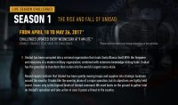 Ghost Recon Wildlands Title Update 3 and Live Season Challenges
