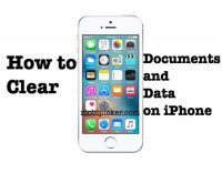 "How to Delete ""Documents and Data"" On iPhone for Extra Space"