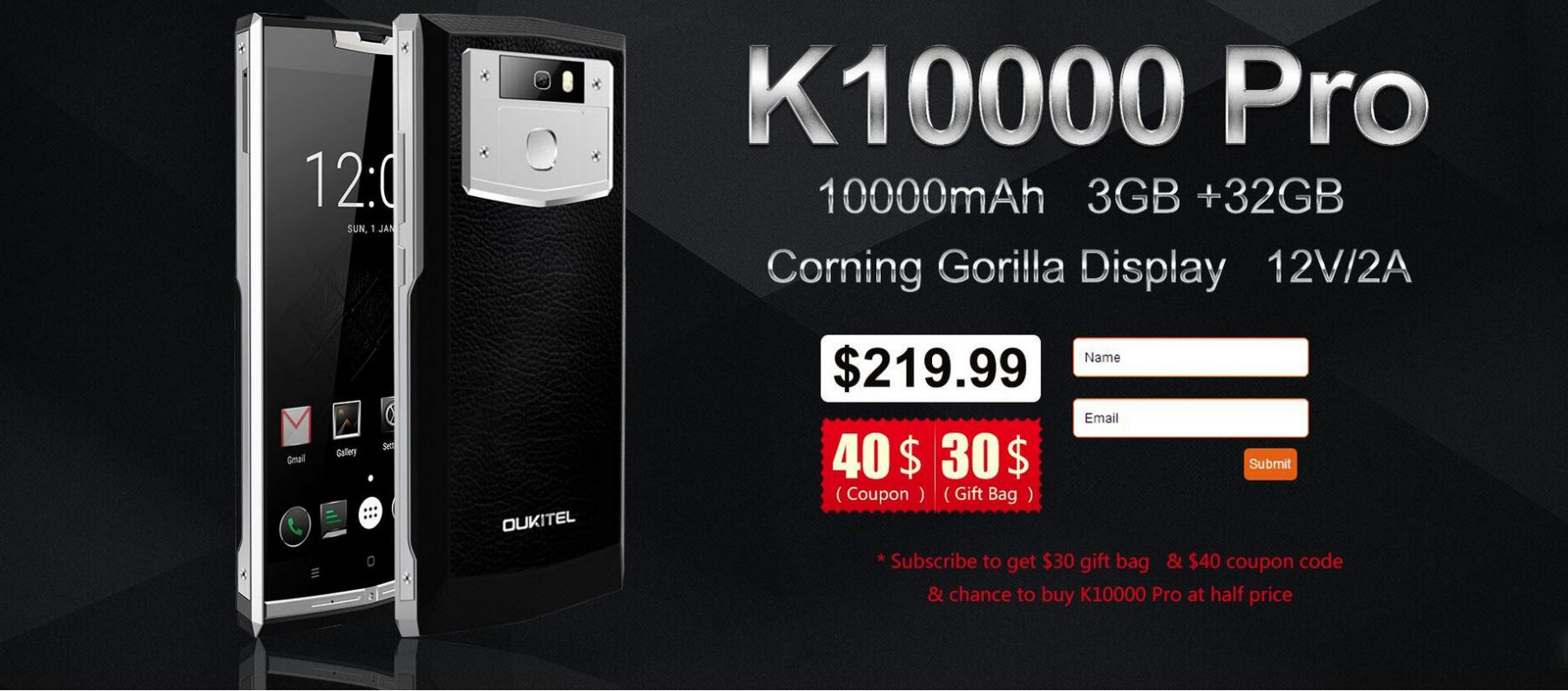 K10000 Pro subscription