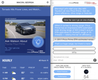 Watson mans the first cognitive ad for cars