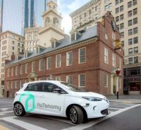 Lyft and nuTonomy announce self-driving R&D partnership