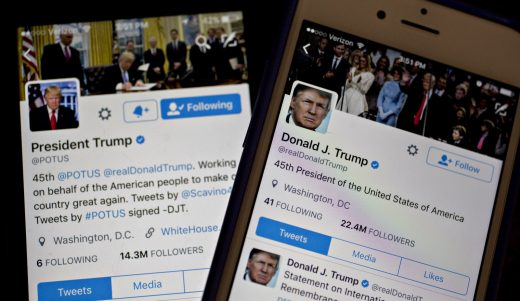 President's confusing 'covfefe' tweet remains live for hours