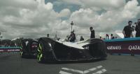 Roborace autonomous car steps it up for Formula E Paris ePrix