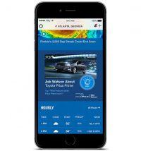 Toyota Launches 'Conversational' Watson Ads On The Weather Channel