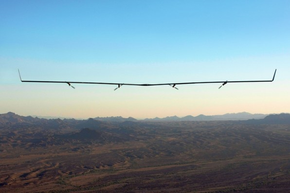Aquila, Facebook's Connectivity Drone, Completes Second Test Flight–This Time Without Crashing   DeviceDaily.com