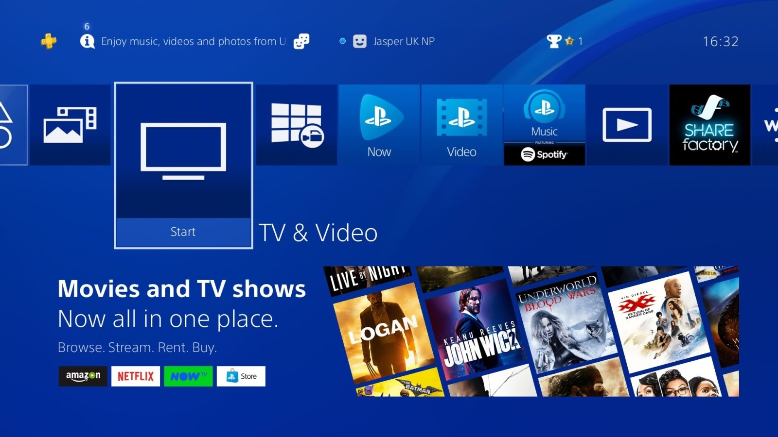 Redesigned PS4 media hub showcases the best streaming videos | DeviceDaily.com